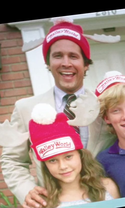 Dana Barron with Morris Costumes National Lampoon's Vacation Wally World Hat in Vacation