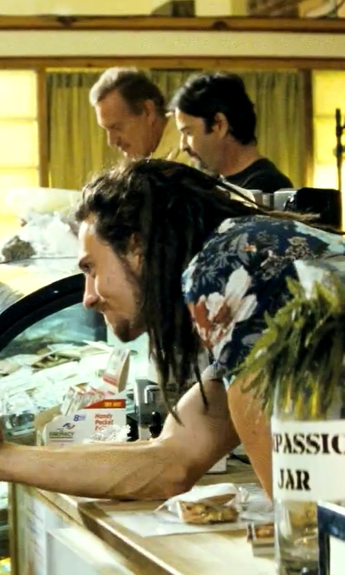 Aaron Taylor-Johnson with Insight The Going Nowhere SS Buttondown Shirt in Savages