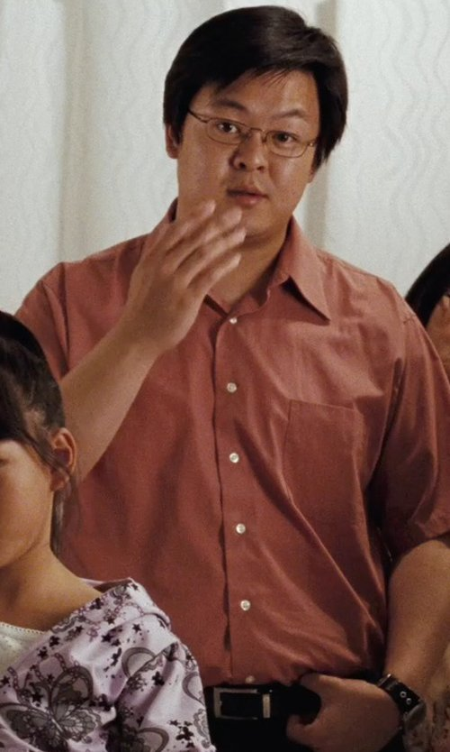 Kevin Leung with Nike Classic Reversible Belt in (500) Days of Summer