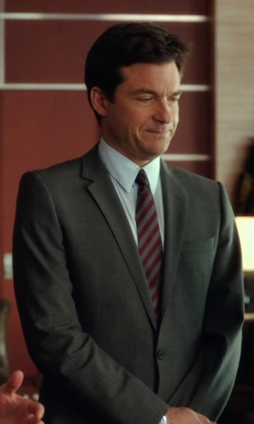 Jason Bateman with Pierre Cardin Vintage Striped Tie in Horrible Bosses 2
