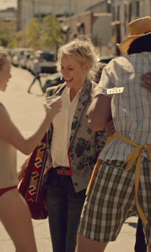 Naomi Watts with Jo No Fui Solid Belt in While We're Young