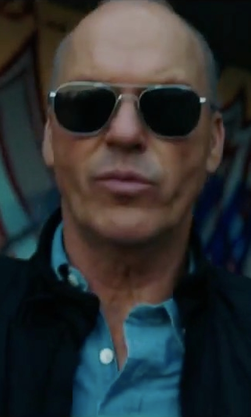 Michael Keaton with Randolph Engineering Randolph Aviator Sunglasses in American Assassin