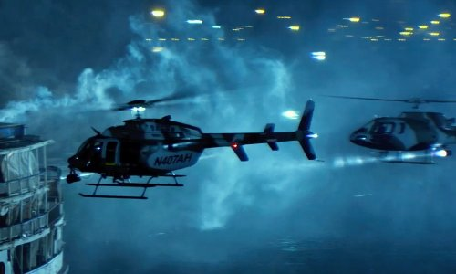 BELL 206L4 in Transformers: Age of Extinction