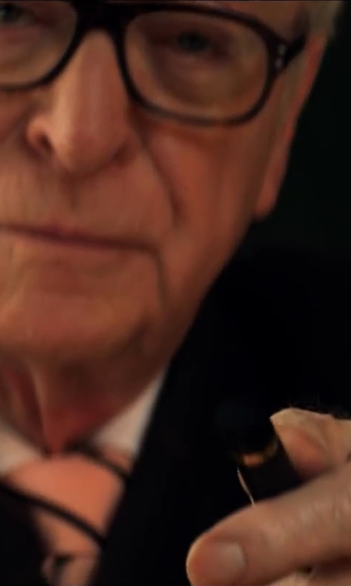 Michael Caine with Conway Stewart Fountain Pen in Kingsman: The Secret Service