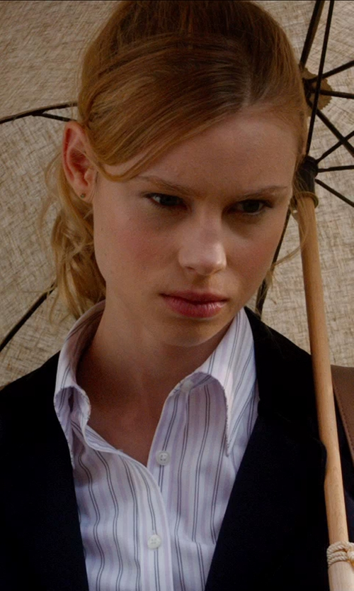 Lucy Fry with KITON Shirts in Vampire Academy