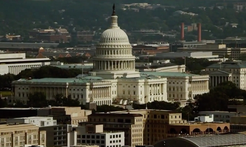 Unknown Actor with United States Capitol Capitol Hill, Washington, D.C. in Mission: Impossible - Rogue Nation