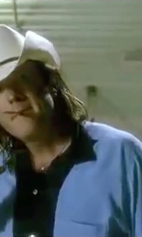 Michael Madsen with Havanera Colorblock Button-Down Shirt in Kill Bill: Vol. 2
