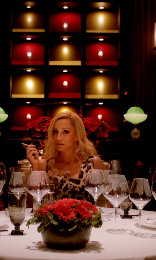 Kristin Scott Thomas with Waterford Elegance Merlot Wine Glass in Only God Forgives