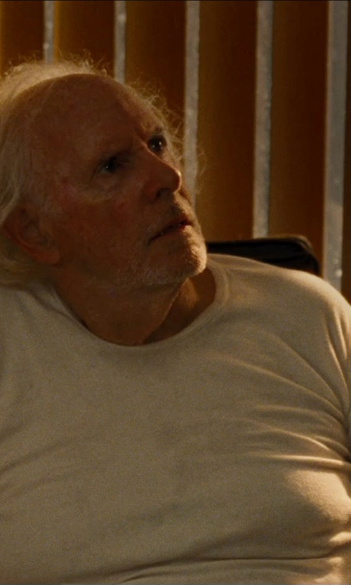 Bruce Dern with T by Alexander Wang Solid Cotton Tee in Cut Bank