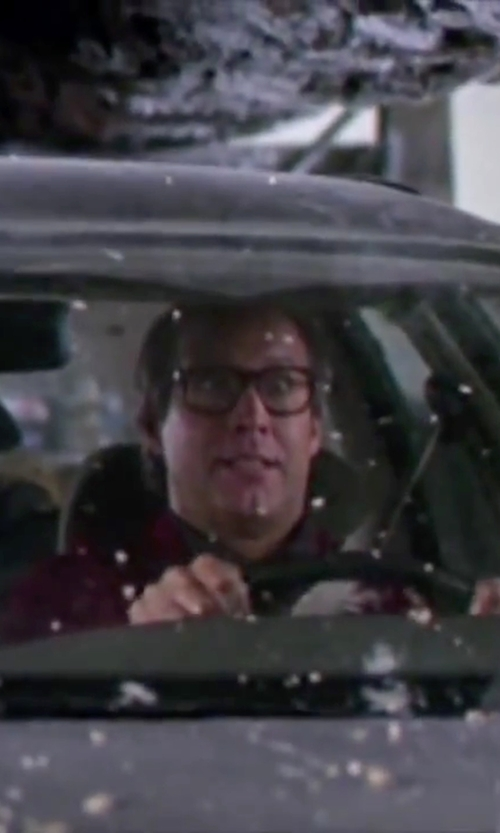 Chevy Chase with Billabong Lincoln Flannel Shirt in Christmas Vacation