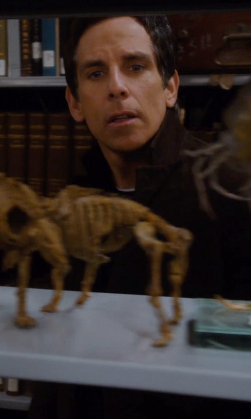 Ben Stiller with American Apparel Men's Poly-Cotton Short Sleeve Ringer T -Shirt in Night at the Museum: Secret of the Tomb