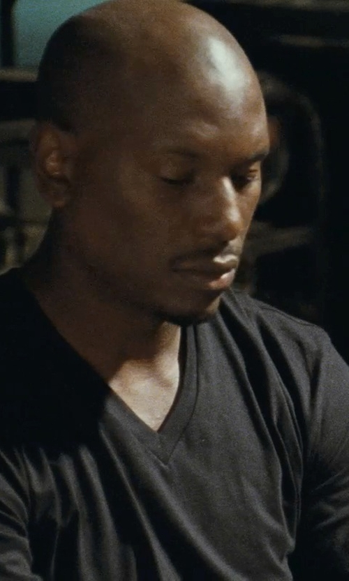 Tyrese Gibson with Dolce & Gabbana Classic T-Shirt in Fast Five