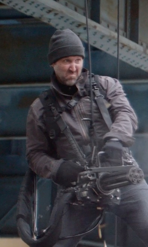 Unknown Actor with Brixton Hoover Beanie in Captain America: The Winter Soldier