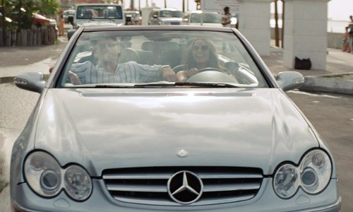 Nikolaj Coster-Waldau with Mercedes-Benz SLK in The Other Woman