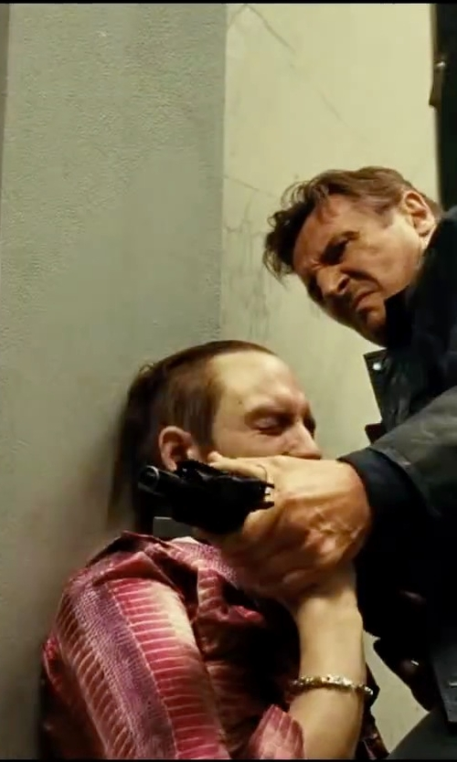 Unknown Actor with Edge By Wd-ny Tribal Print Shirt Jacket in Taken 3