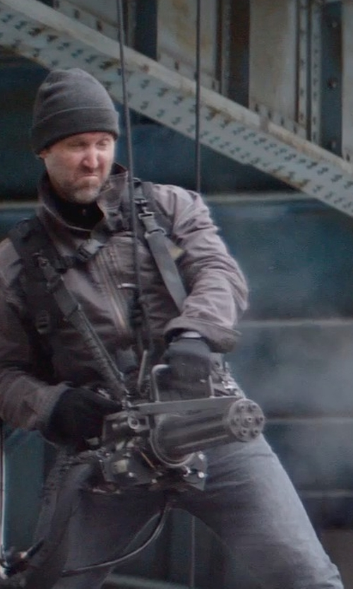 Unknown Actor with FAY Jacket in Captain America: The Winter Soldier