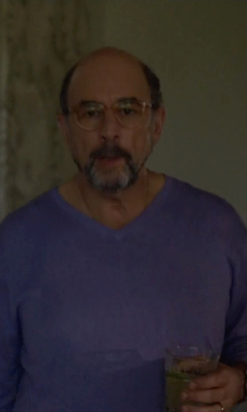 Richard Schiff with Shinola Runwell Chrono Watch in Ballers