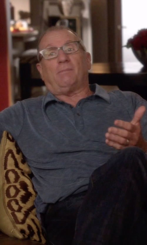 Ed O'Neill with Cutter & Buck Drytec Chelan Polo Shirt in Modern Family