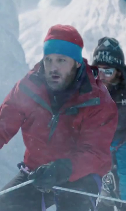 Jason Clarke with Poler Trail Boss Beanie in Everest