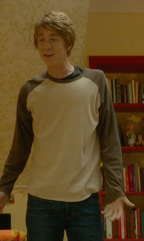 Thomas Mann with Wrangler Denim Pants in Me and Earl and the Dying Girl