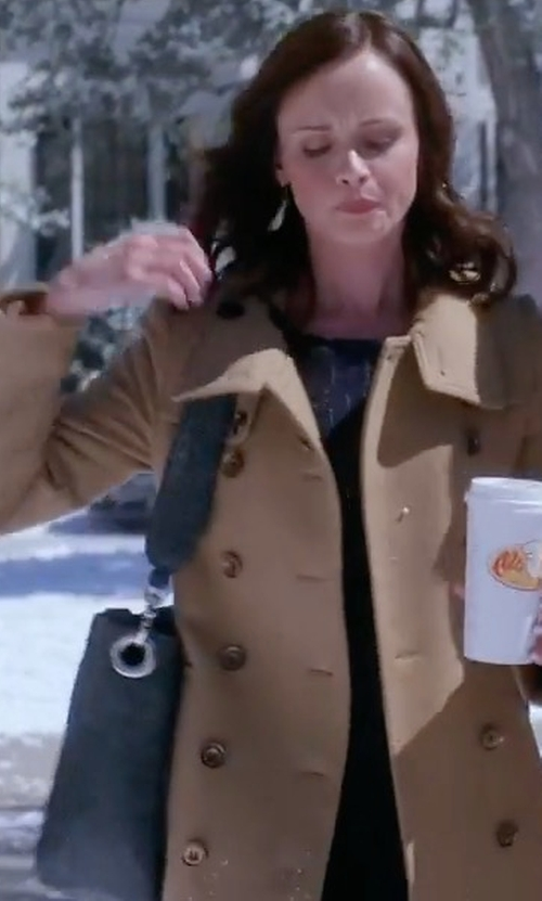 Alexis Bledel with Jamah The Rosey Edition Special Bag in Gilmore Girls: A Year in the Life
