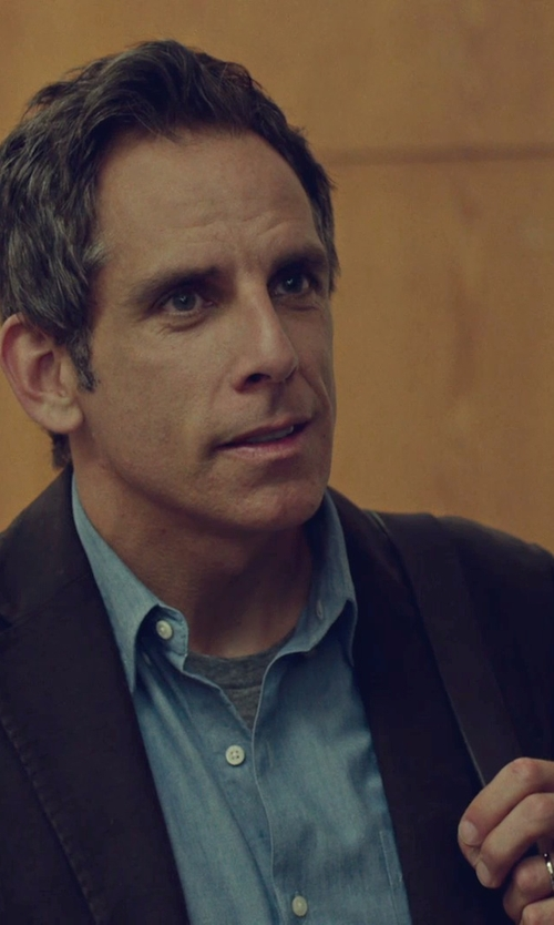 Ben Stiller with Lucida Wedding Band Ring in While We're Young