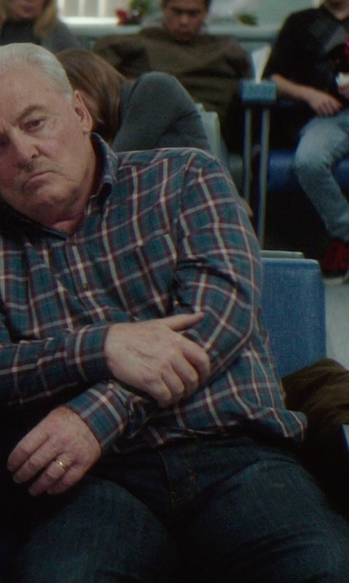 Stacy Keach with Burberry Brit Loose Fit Jeans in If I Stay