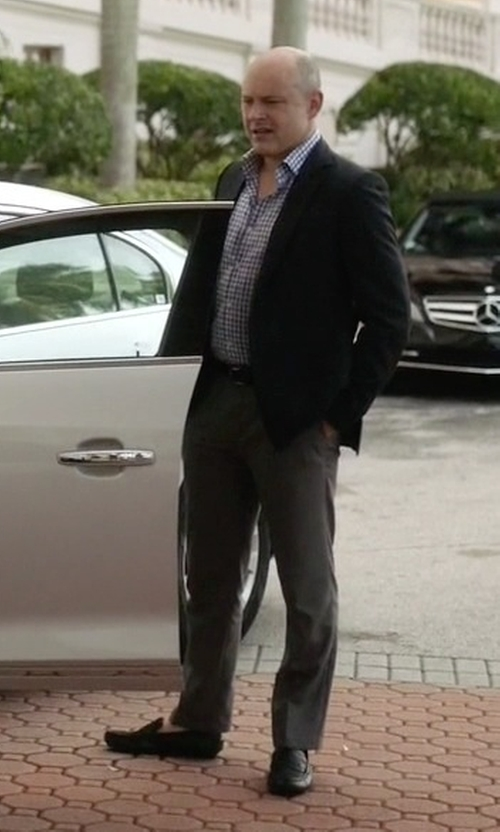 Rob Corddry with Geox U Monet 16 Loafers in Ballers