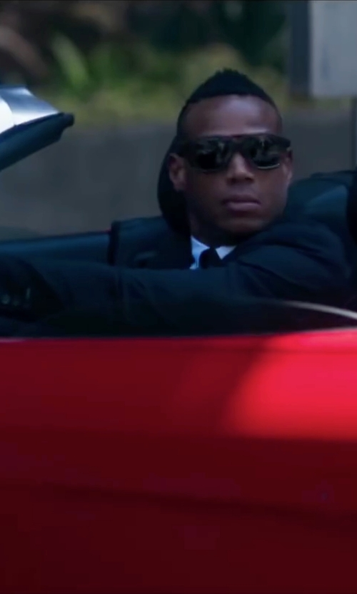 Marlon Wayans with Oakley Fuel Cell Sunglasses in Fifty Shades of Black
