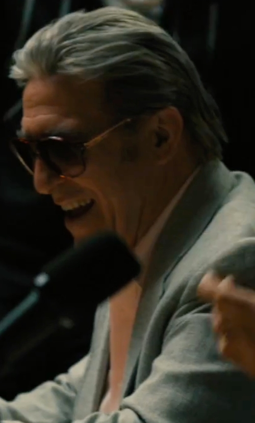 Ciarán Hinds with Retrosuperfuture Buzz Sunglasses in Bleed for This