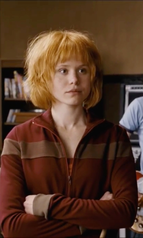 Alison Pill with Jack Wolfskin Midnight Moon Jacket in Scott Pilgrim Vs. The World
