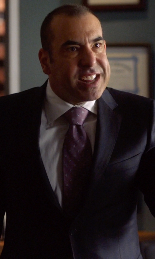 Rick Hoffman with Z Zegna Formal Two Piece Suit in Suits