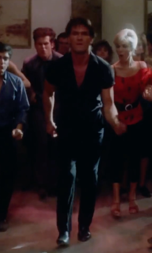 Patrick Swayze with JD Fisk Men's Vance Chelsea Boots in Dirty Dancing