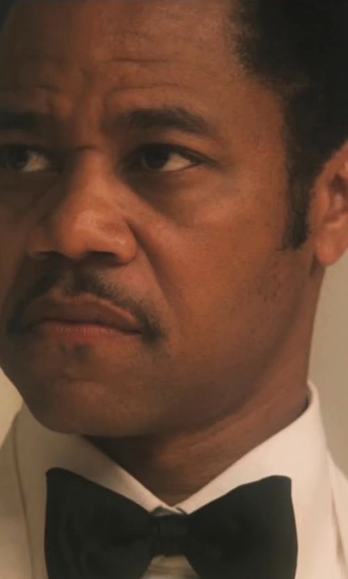 Cuba Gooding Jr. with Croft & Barrow Solid Self-Tie Bow Tie in Lee Daniels' The Butler