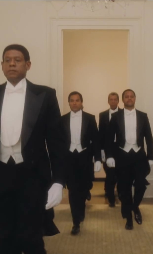 No Actor with Theory Slyvain Solid Dress Shirt in Lee Daniels' The Butler
