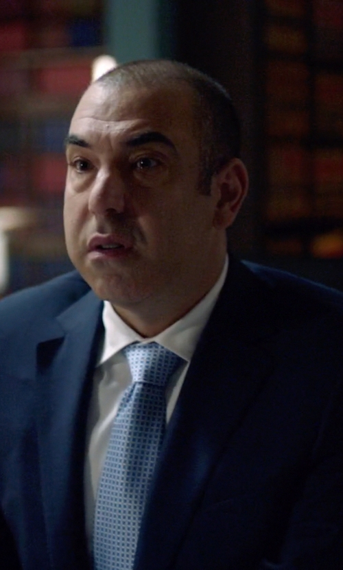 Rick Hoffman with Brooks Brothers Fitzgerald Fit Windowpane Suit in Suits