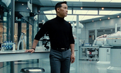 BD Wong with Allen Edmonds Classic Wide Belt in Jurassic World