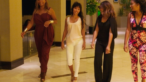 Jada Pinkett Smith with French Connection Rebound Skinny Jeans in Girls Trip
