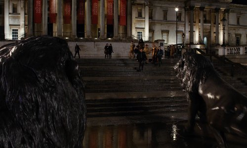 Unknown Actor with The National Gallery London, United Kingdom in Night at the Museum: Secret of the Tomb
