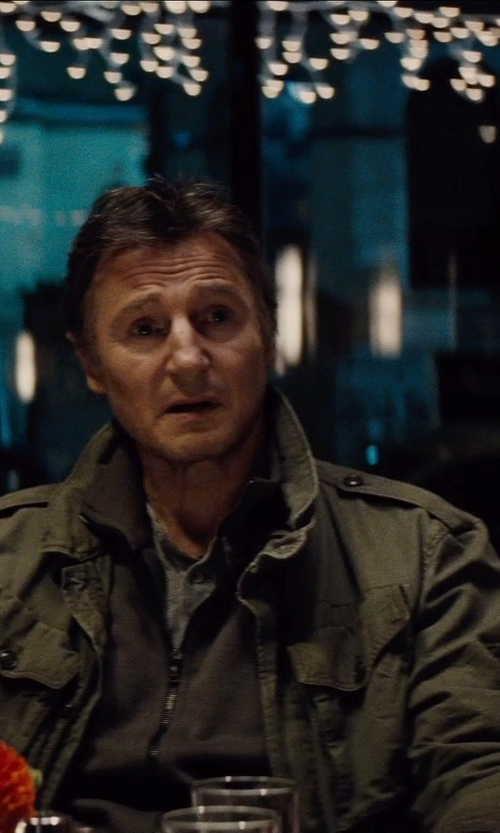 Liam Neeson with Victorinox Men's Mahale Full-Zip Sweater in Run All Night