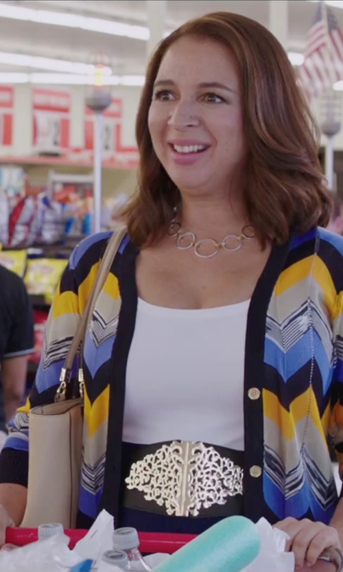 Maya Rudolph with Bric's Large Foldable Tote Bag in Sisters