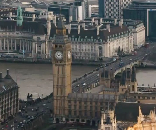 No Actor with Big Ben London , United Kingdom in London Has Fallen