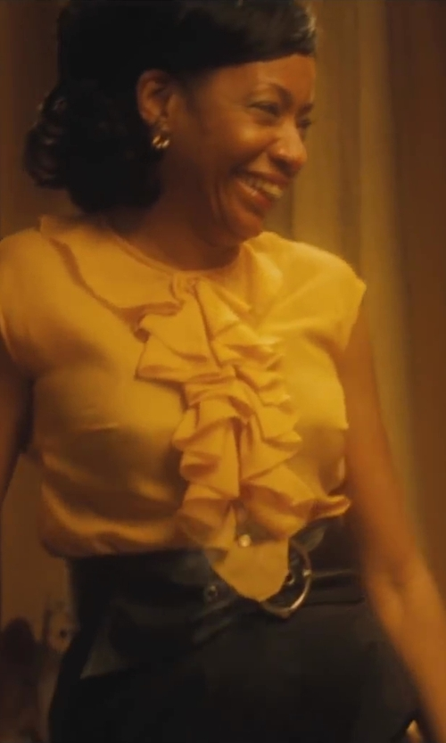 Adriane Lenox with Linea Pelle Thick Metal Tip Belt in Lee Daniels' The Butler