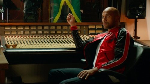 Keegan-Michael Key with G-Star Raw Attacc Straight Jeans in Pitch Perfect 2