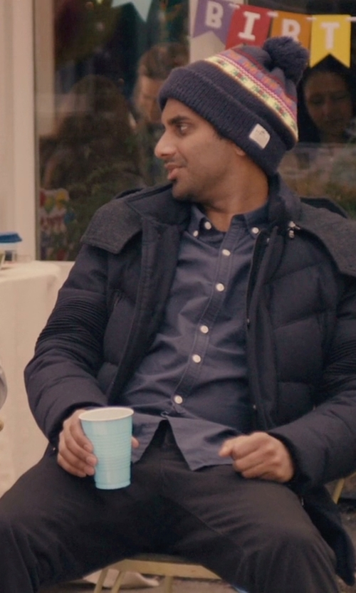 Aziz Ansari with Levi's Straight Chino Pants in Master of None