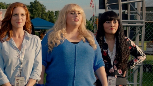 Hana Mae Lee with Adidas Firebird Track Jacket in Pitch Perfect 2