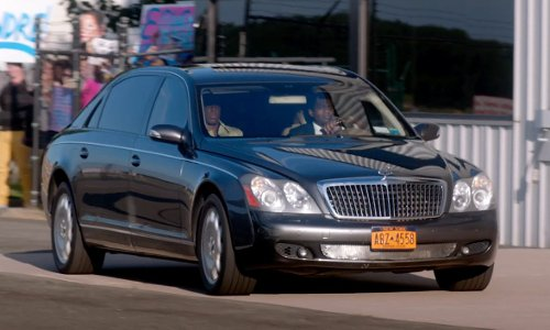 Chris Rock with Maybach 57 Sedan in Top Five