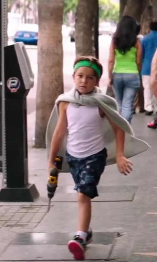 "Pierce Gagnon with Nike Swoosh Headband - 2"" in Wish I Was Here"