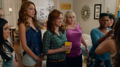 Alexis Knapp with ASTR Tank Top in Pitch Perfect 2