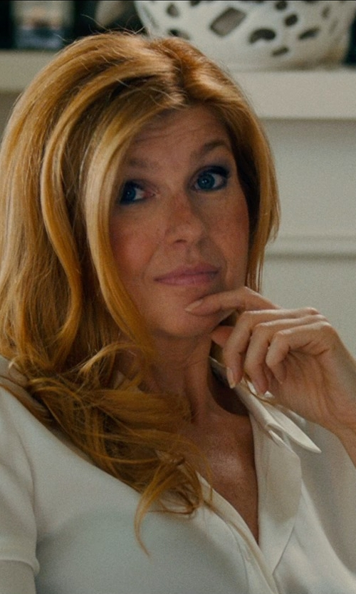 Connie Britton with THEYSKENS' THEORY Fitted Shirt in This Is Where I Leave You